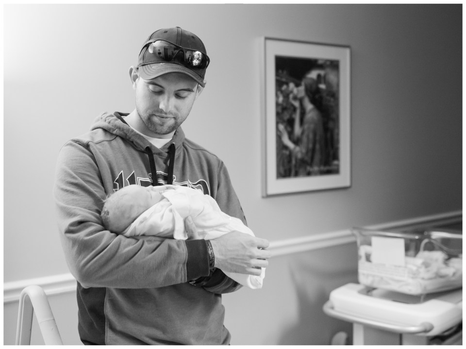 Newborn Hospital Session | Emily Moore | Private Photo Editor