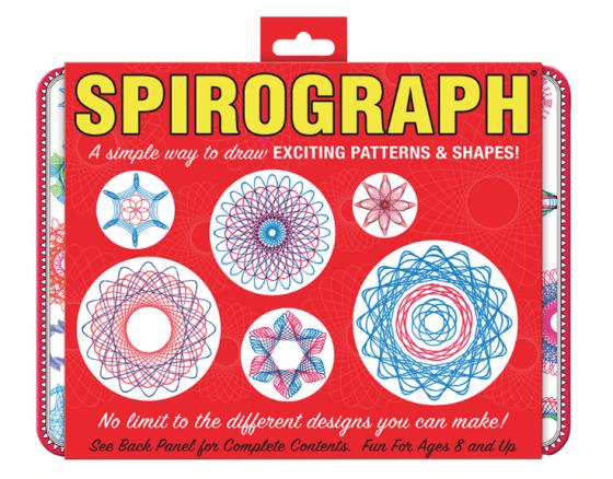 Spirograph® Retro Design Tin