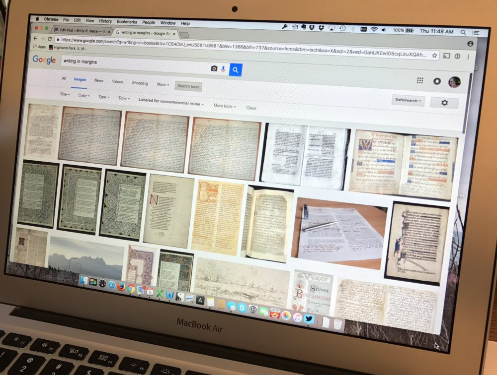 Finding Writing Time in the Margins