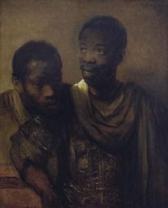 Rembrandt van Rijn, Two Moors, 1661