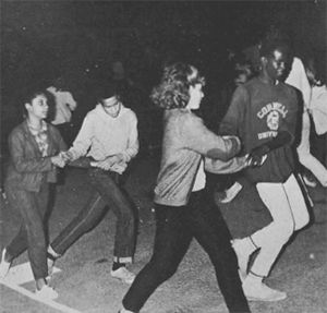 Dancing at Camp Trywoodie,1965