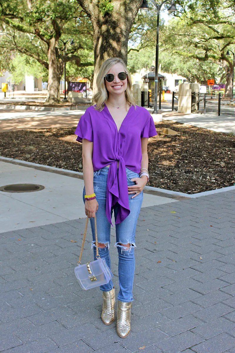LSU Gameday Shopping Guide featured by top US LSU blogger, Emily Villere Dixon: kendra scott gameday