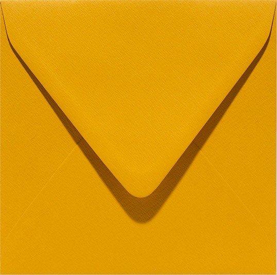 oker geel mosterd envelop