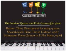 2014-Lincoln Center - Chamber Music New York
