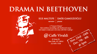 Drama in Beethoven with Ege Maltepe-2013-11-08-Poster