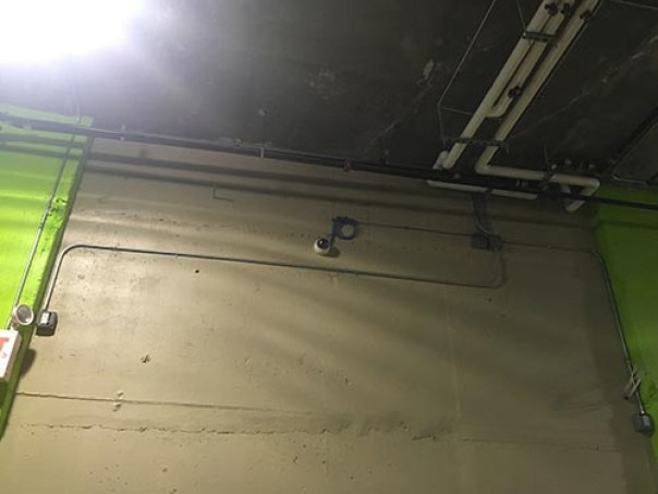 cielo garage cctv installation EM IT