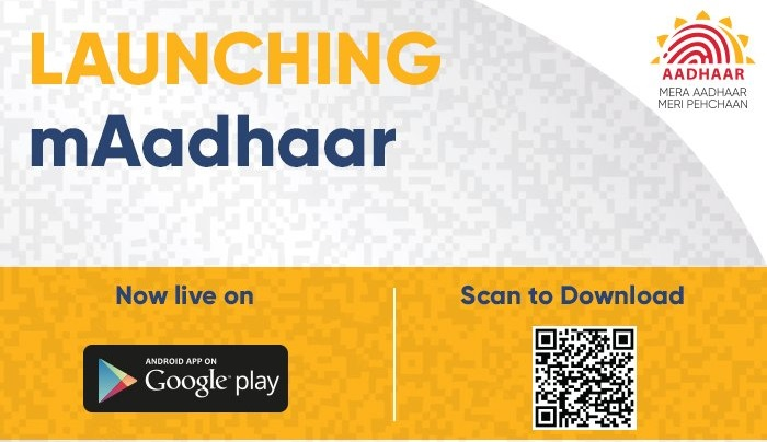 UIDAI mAdhaar app for Aadhaar cardholders launched in India