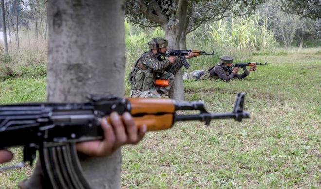 Terrorist Caught In Encounter In Jammu And Kashmir's Shopian