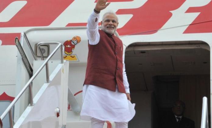 Modi on his tour