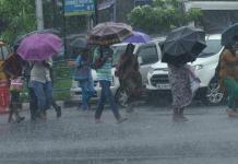 pre-mosoon rainfall