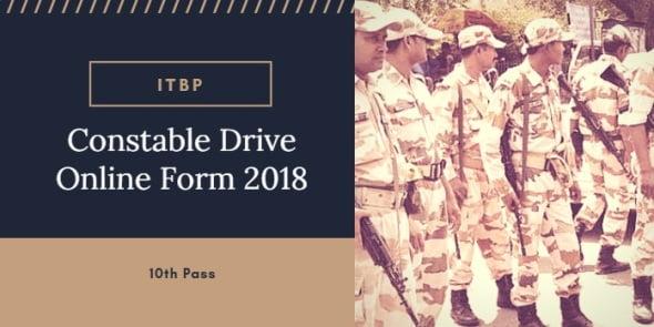 ITBP Constable (Driver) Vacancy 2018