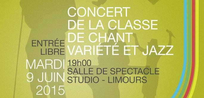 Concert De La Classe De Chant Variété Et Jazz