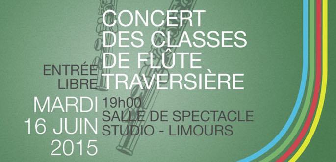 Concert Des Classes De Flûte Traversière