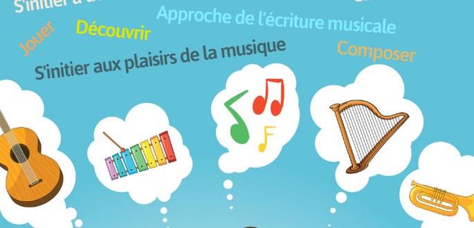 Initiation Musicale, Il Reste De La Place. Venez Essayer !!