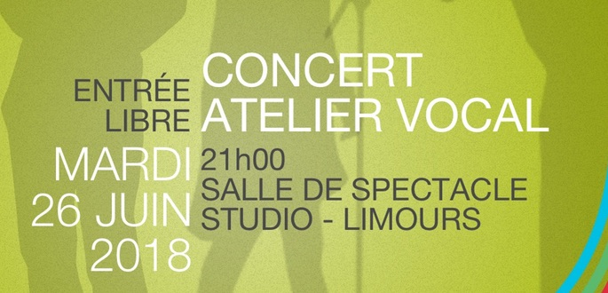 Concert De L'Atelier Vocal