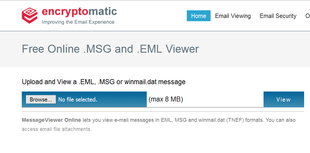 Try This Free Email Viewer for .MSG and .EML Files