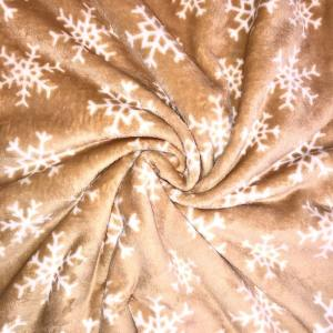 Nude Snowflake Fleece