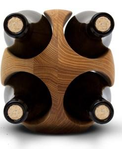 stojak na wino rugby