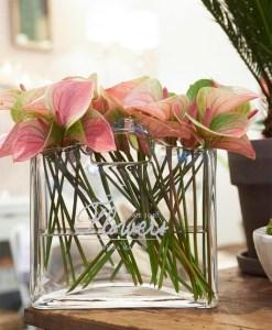 Riviera Maison Taschenvase Flowers.769165 3, Meble ogrodowe – stoły i krzesła wypoczynkowe do ogrodu