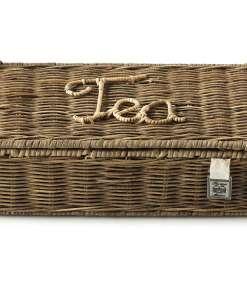 Pojemnik na Herbaty Rustic Rattan Tea Bags Organiser L