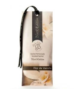 Saszetka zapachowa do szafy – Kwiat wanilii – Black Edition