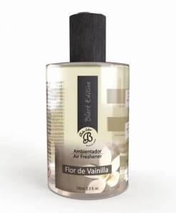 Perfumy do wnętrz – Flor de Vainilla – Kwiat wanilii – Spray Black Edition