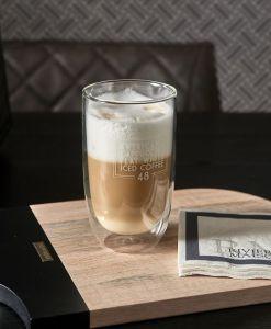 Szklanka z podwójnymi ściankami Love Coffee L
