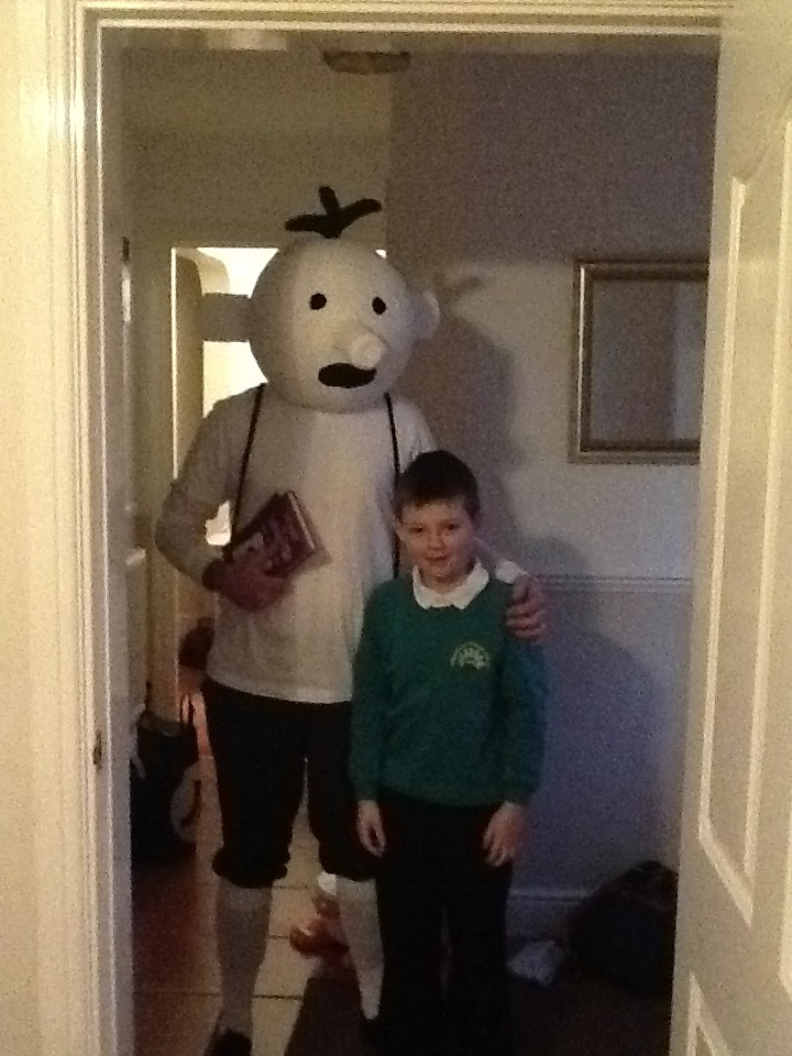 wimpy kid costume