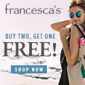 francesca's Upcoming Sales Roundup