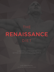 An Affordable Essential Fitness Package - The Renaissance Diet