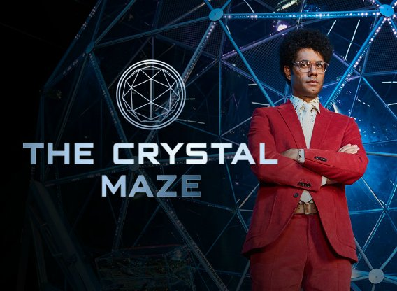 THE CRYSTAL MAZE – ASSISTANT ART DIRECTOR