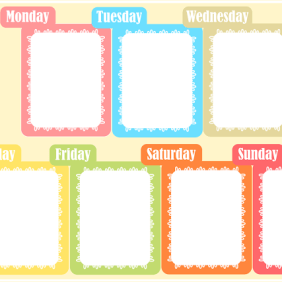 Organizador semanal Creative Mindy