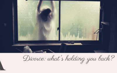 Your divorce – what's holding you back?