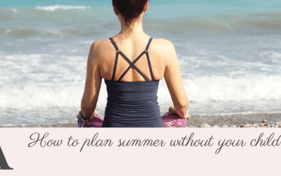 How to plan summer without your children