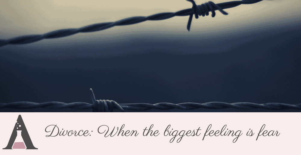 Divorce – when the biggest feeling is fear