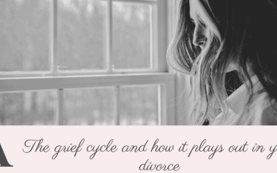The Grief Cycle and how it plays out in your divorce
