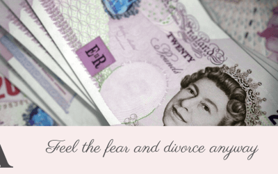 The pain isn't in the paying for divorce