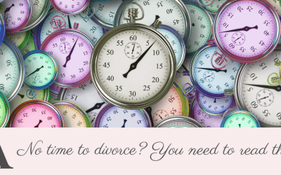 No time to divorce?