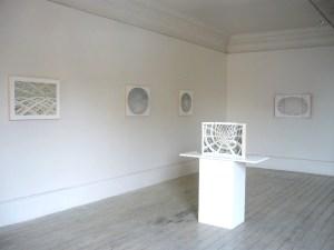 Installation view of Harriet Mena Hill, The Still Point, 2014