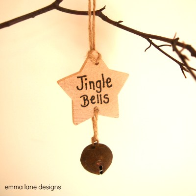Jingle Bells rustic Christmas Decoration