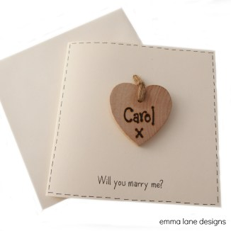Will you Marry me card