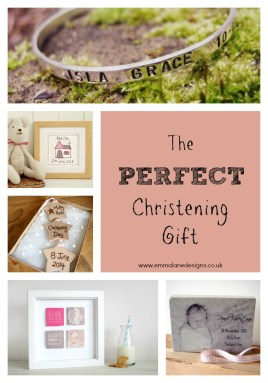 Unique and bespoked Christening Gifts