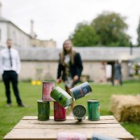 Tin Can Alley Lawn game for hire