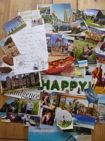 Create your own holiday vision board