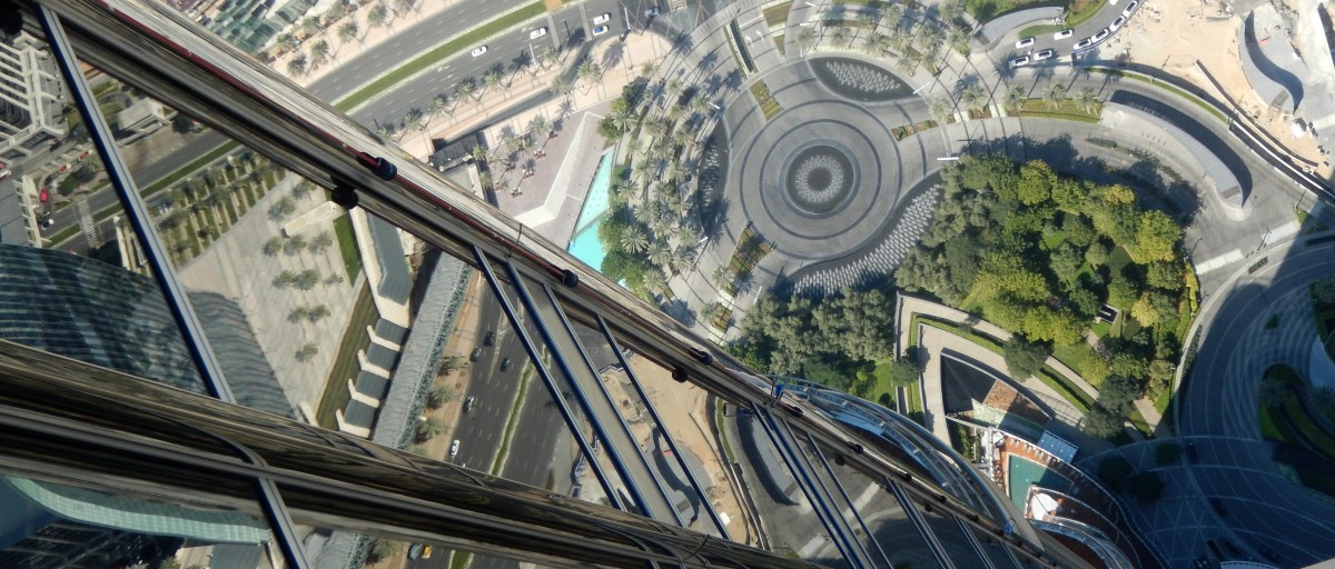 I went up the Burj Khalifa and lived happily ever after