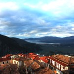 Emma Marie Horn Photography View from hostel window Delphi