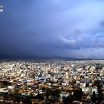 Emma Marie Horn Photography Athens seen from Lykavittos Hill