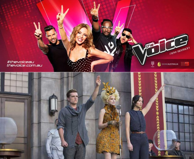 There's something oddly familiar about Channel 9's hit reality TV show, The Voice