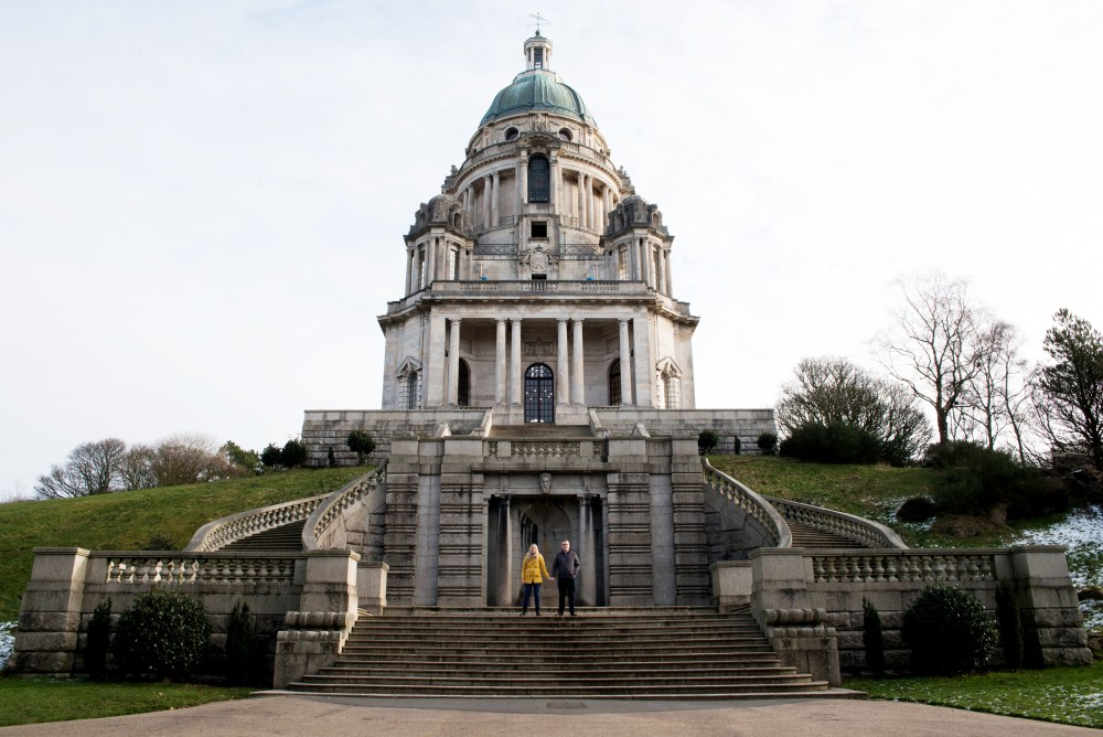 Williamson Park Lancaster Engagement Shoot