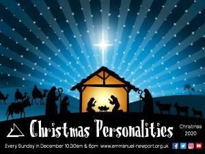 Christmas Personalities series logo